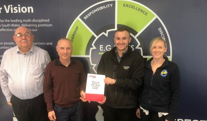 TTC WALES CHAMPIONS RECEIVE EMPLOYEE CHAMPION TRAINING